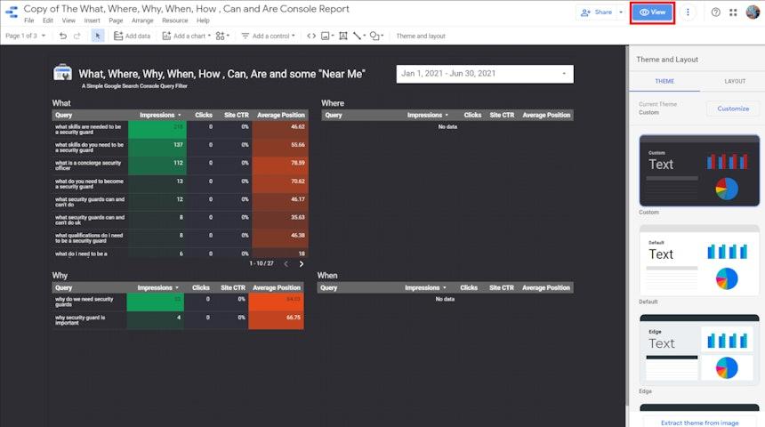 Captura de pantalla 16 de Google Data Studio