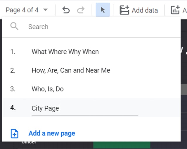Captura de pantalla 23 de Google Data Studio