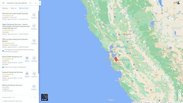 Google Local Finder y Google Maps: ¿Cuál es la diferencia?  - 1