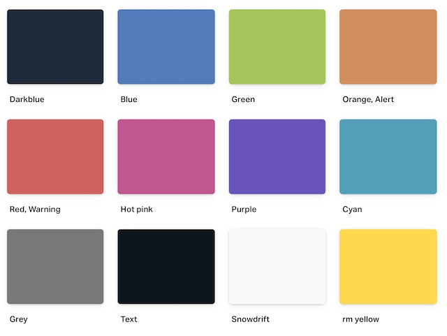 Our previous primary colors