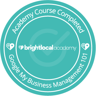 BrightLocal Academy - Course Completed - Google My Business Client 101