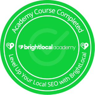 BrightLocal Academy - Course Completed - Level Up Your Local SEO